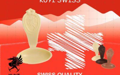 KUYI SWISS La cuillère en chocolat